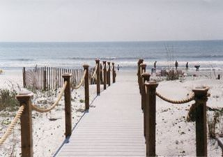 Palmetto Dunes house photo - Your private walkway to beach