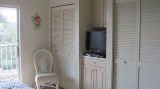 Sanibel Island condo photo - master bedroom with 26 inch flatscreen tv & dvd player