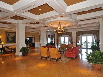Pelican Grand Beach Resort lobby. Old world Florida charm at it's finest.