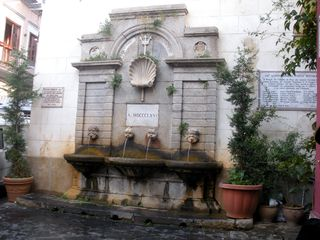 Pizzo apartment photo - Fountain in Pizzo Square