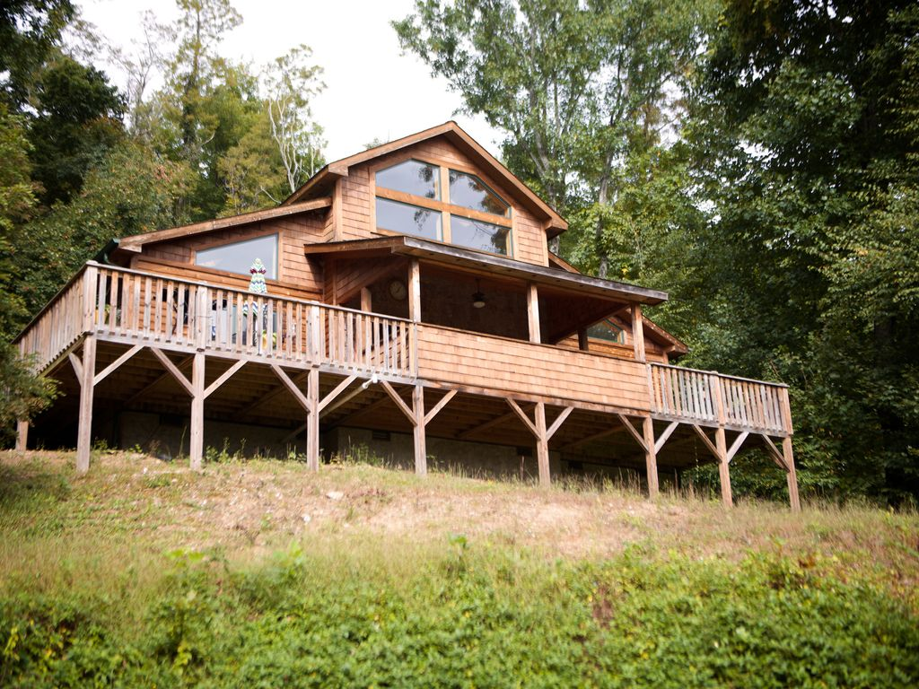 4 mi from blowing rock nc tranquil mountain vrbo for Cabin rentals near blowing rock nc