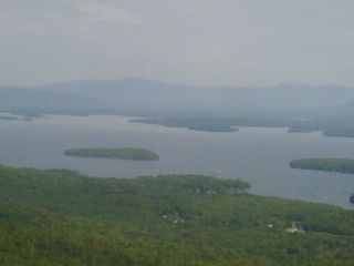 Laconia townhome photo - Lake Winnipesaukee from the Summit of Mount Major, Alton, New Hampshire