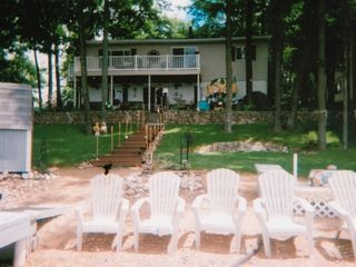 Harrison house photo - Beautiful lakefront home with sandy beach - veiw from the lake