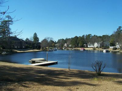 Pinehurst house rental - Backyard view