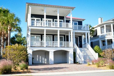 711 Ocean Blvd, Isle of Palms, SC - 711 Ocean Blvd, Isle of Palms, SC 5 Bedrooms, 4 Full 2 Half Baths, Sleeps 16, 4,400 SF 4 King, 3 Bunk Beds, 1 Queen Sofa Sleeper, 3 Chair Sleepers