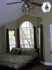 Master Bedroom with King Size Bed - Willis house vacation rental photo