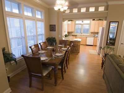 Dining Area - Dine Inside, or on the Porch or Pool side!