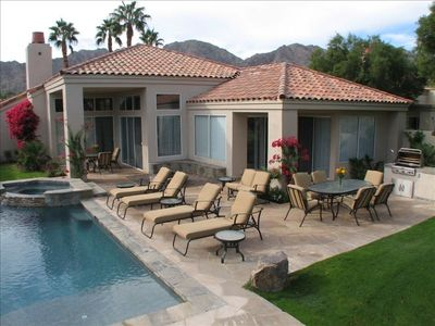 Private Spa and Pool, Plenty of Lounge Chairs, Pool Toys, Right on the Course