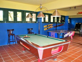 "Dorado house photo - The ""Bunker"" game room at Dorado Beach East"