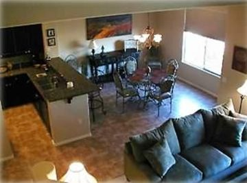 Other Scottsdale Properties townhome rental - Dining Room, off Kitchen & Living Room areas
