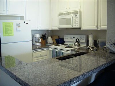 Granite Counter Tops in Kitchen, Dning Room, Bathroom, & Balcony Counter Top