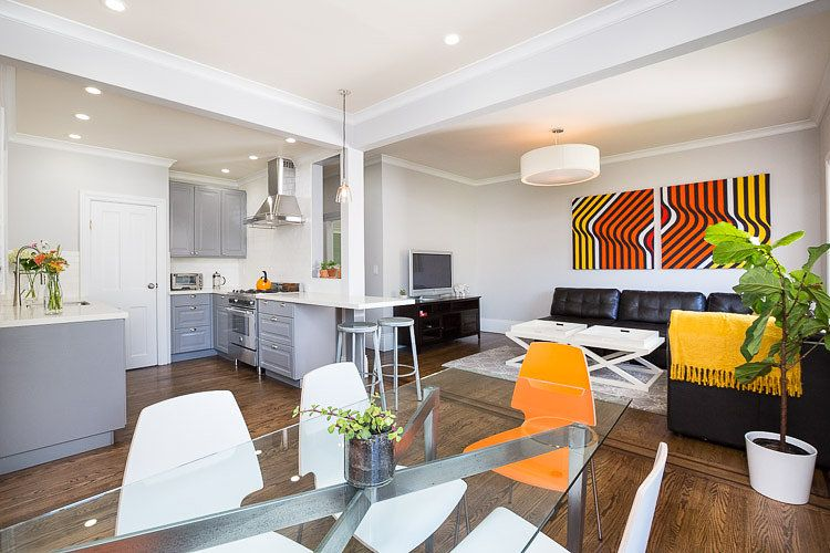 Stunning, Centrally Located Apt With Backyard Oasis. 3 Bedrooms    1,500ft/140M
