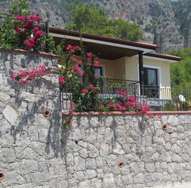 Detached luxury villa with stunning views of the mountains overlooking Gocek Bay