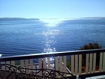 Brinnon house rental - Sweeping, unimpeded water and wildlife views on widest expanse of Hood Canal