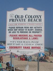 Private Old Colony Beach