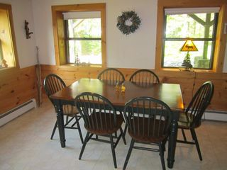 North Woodstock house photo - The cozy dining room.