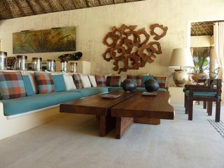 Puerto Escondido villa photo - Living room