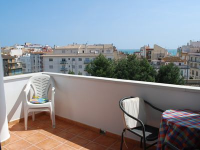 L'Ampolla apartment rental - sea facing balcony