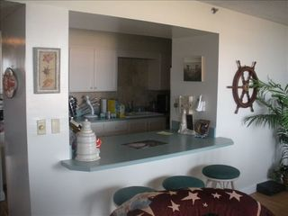 Flagler Beach condo photo - Full kitchen with microwave and much more