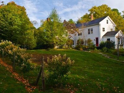 New England Colonial on nine acres