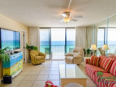 Enjoy the Sea Breeze in the Great Room with plenty of seating and room for fun!