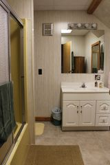 Whiteface Mountain chalet photo - Full Bathroom with tub for soaking away stressed muscles or thoughts