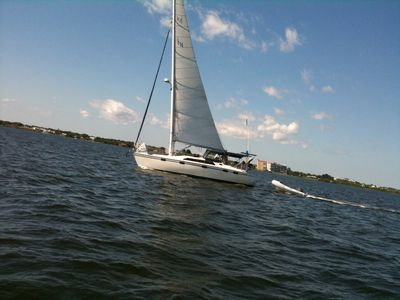 Sailing on the Indian River