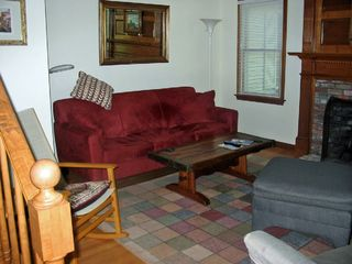 Eastham house photo - The unique media room is a quiet, comfortable place for HDTV and DVD viewing