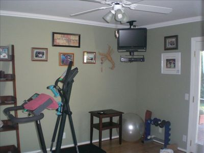 Exercise/yoga room