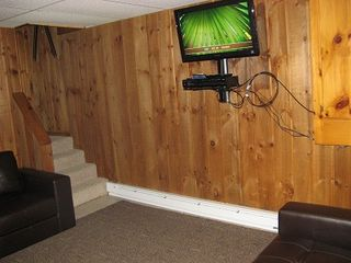 Ludlow house photo - New! lower level TV room - great for the kids or just another area to hang out