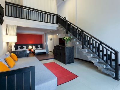 image for 2-Storey Family Suite, Large Living room