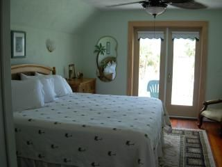 Daytona Beach house photo - Master Bedroom with Balcony overlooking Halifax River.