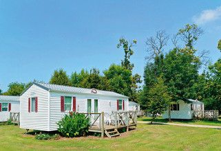 4-6 Persons mobile home on family camp site in Northern Brittany