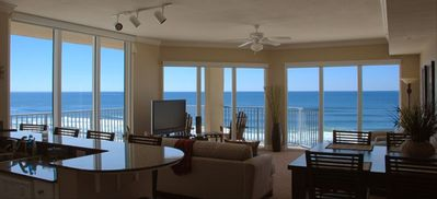 3rd floor unit with incredible views from living area and balcony