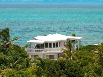 Providenciales - Provo house rental - Aerial view of Grace Bay Beach House