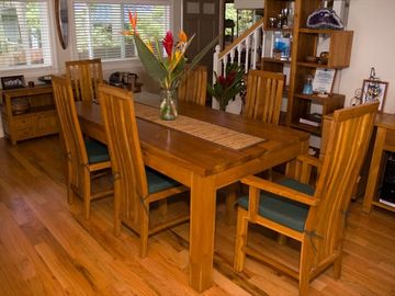 Pupukea house rental - Dining room