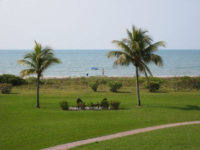 Sanibel Island condo rental - Gulf view from the lanai, living room, master bedroom and kitchen