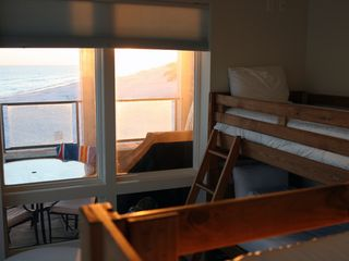 Inlet Beach house photo - #3 bedroom. 2 sets of bunks (4 single beds). Private bath, Walk in closet, Patio