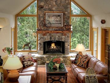 Heavenly Valley house rental - Majestic alpine vistas from living room