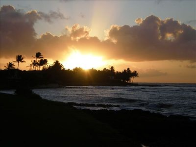 Enjoy gorgeous sunrise from private lanai