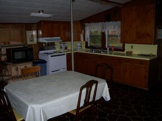 Mousam Lake cottage photo - Kitchen is better than this looks