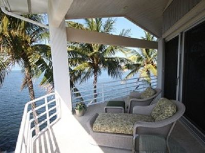 Marathon house rental - Relax on the Master Suite Balcony