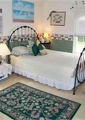Tom Nevers house photo - Lovely guest bedroom; 'Sea Castle' sleeps eight.