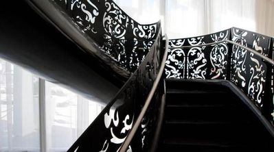 Stairs designed by Marcel Wanders