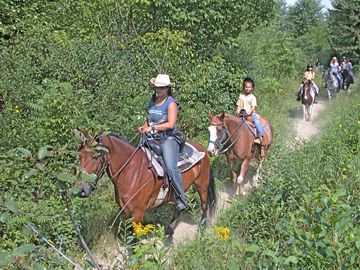 Trail rides daily all yr. long weather permitting