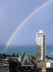 Waikiki condo photo - A Breathtaking View! (picture taken from bedroom)