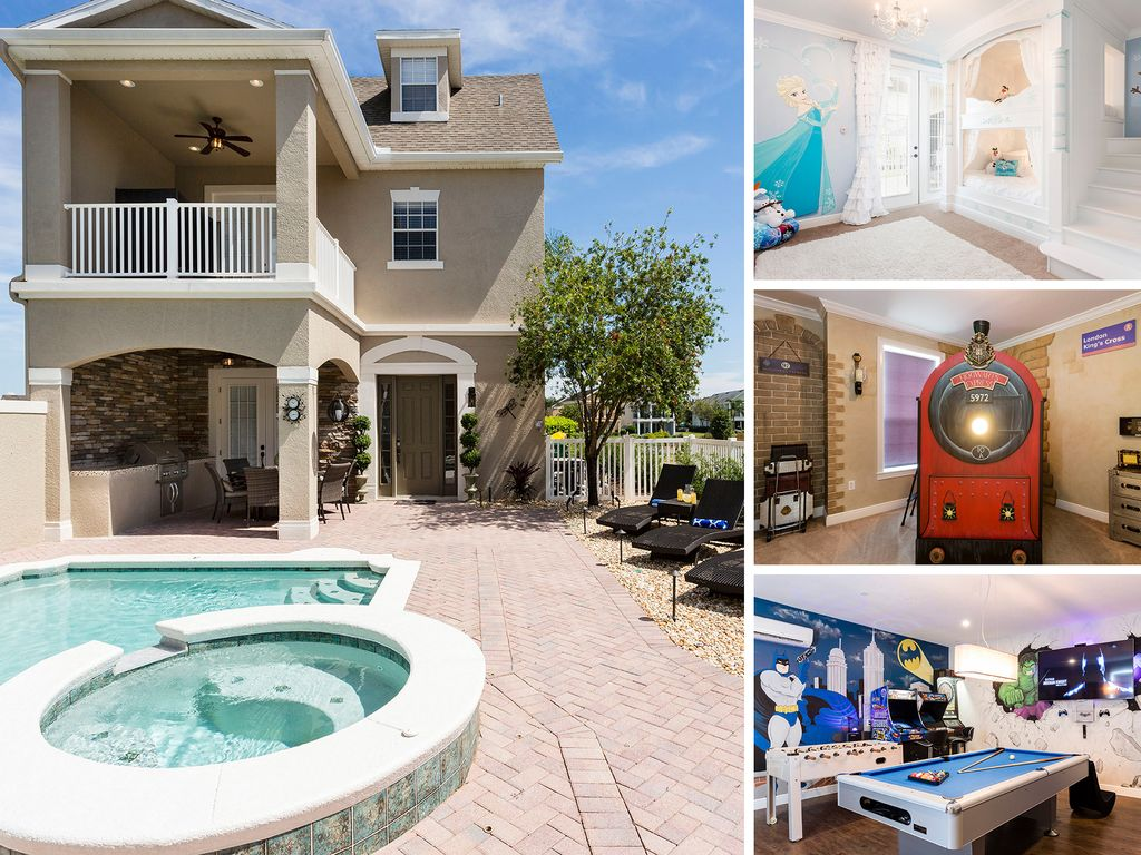 6 Bed Villa With New Furnishings Home Homeaway Reunion