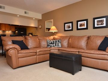 Frisco condo rental - Living Area