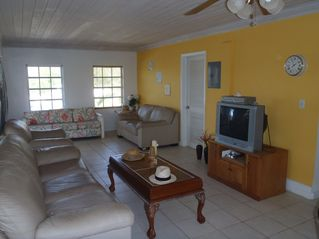 Great Exuma apartment photo - View of the appartments light and airy lounge area.