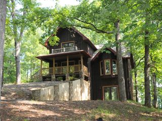 Hiawassee chalet photo - Front View of Wren's Nest